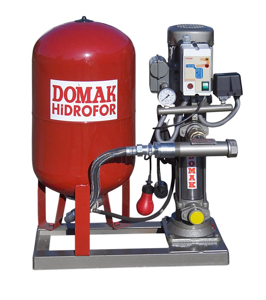tanklı hidrofor DOMAK