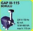 GAP III 115 BORULU HAVUZ POMPASI