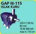 GAP III 115 ISLAK KURU HAVUZ POMPASI