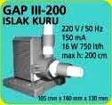 GAP III 200 ISLAK KURU HAVUZ POMPASI