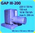 GAP III - 200 HAVUZ POMPASI