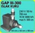 GAP III - 300 ISLAK KURU HAVUZ POMPASI