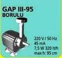 GAP III - 95 BORULU HAVUZ POMPASI