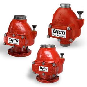 Kuru alarm vanası, Dry system valves